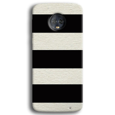 Black & White  Moto G6 Plus Case