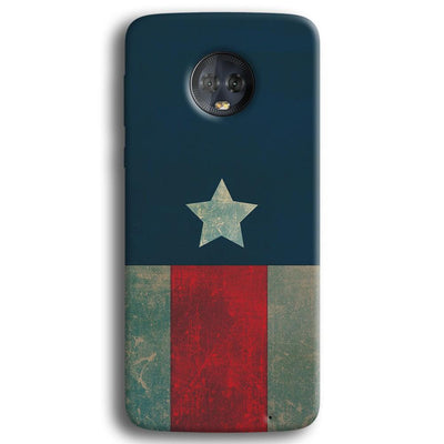 Captain America Moto G6 Plus Case