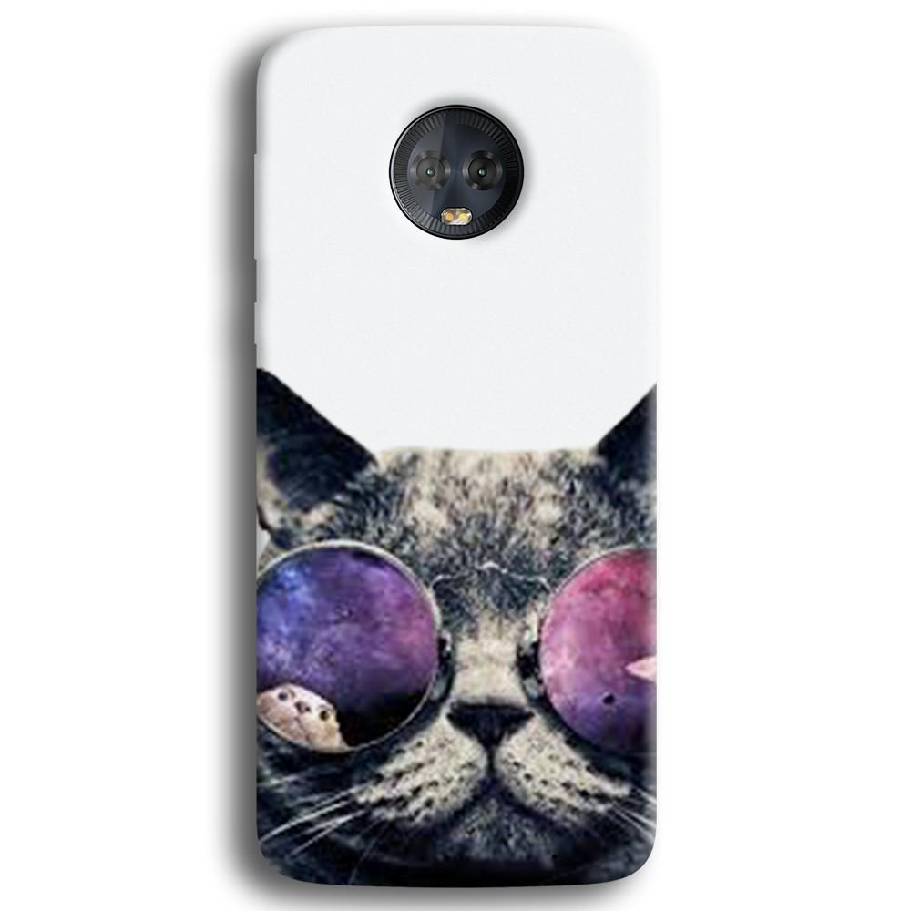 Cool Cat Moto G6 Plus Case