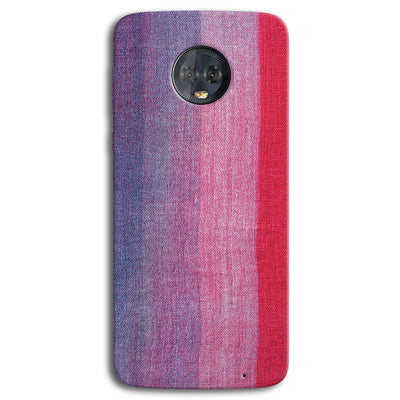 Multicolor Stripes Moto G6 Plus Case