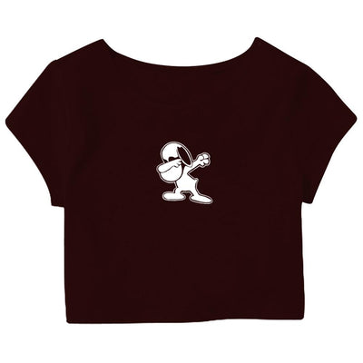 Dab Puppy Crop Top