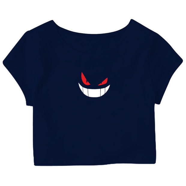 Gengar Crop Top