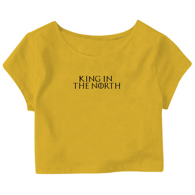 King In The North Crop Top