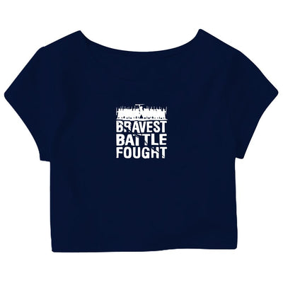 Brave Battle Crop Top