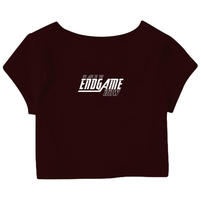 Endgame Crop Top
