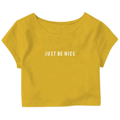 Be Nice Crop Top