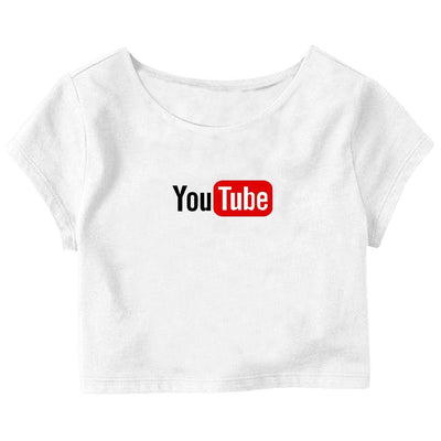 Youtube Crop Top