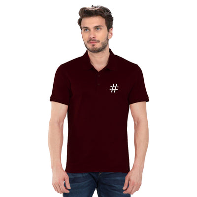 Hashtag Polo T-Shirt
