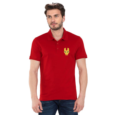 Ironman Mask Polo T-Shirt
