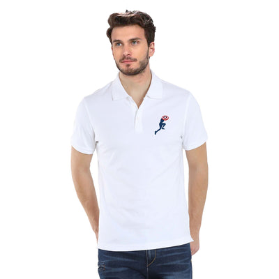 Captain America in Action Polo T-Shirt