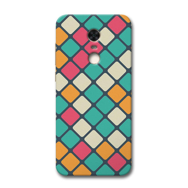 Colorful Tiles Pattern Redmi Note 5 Case