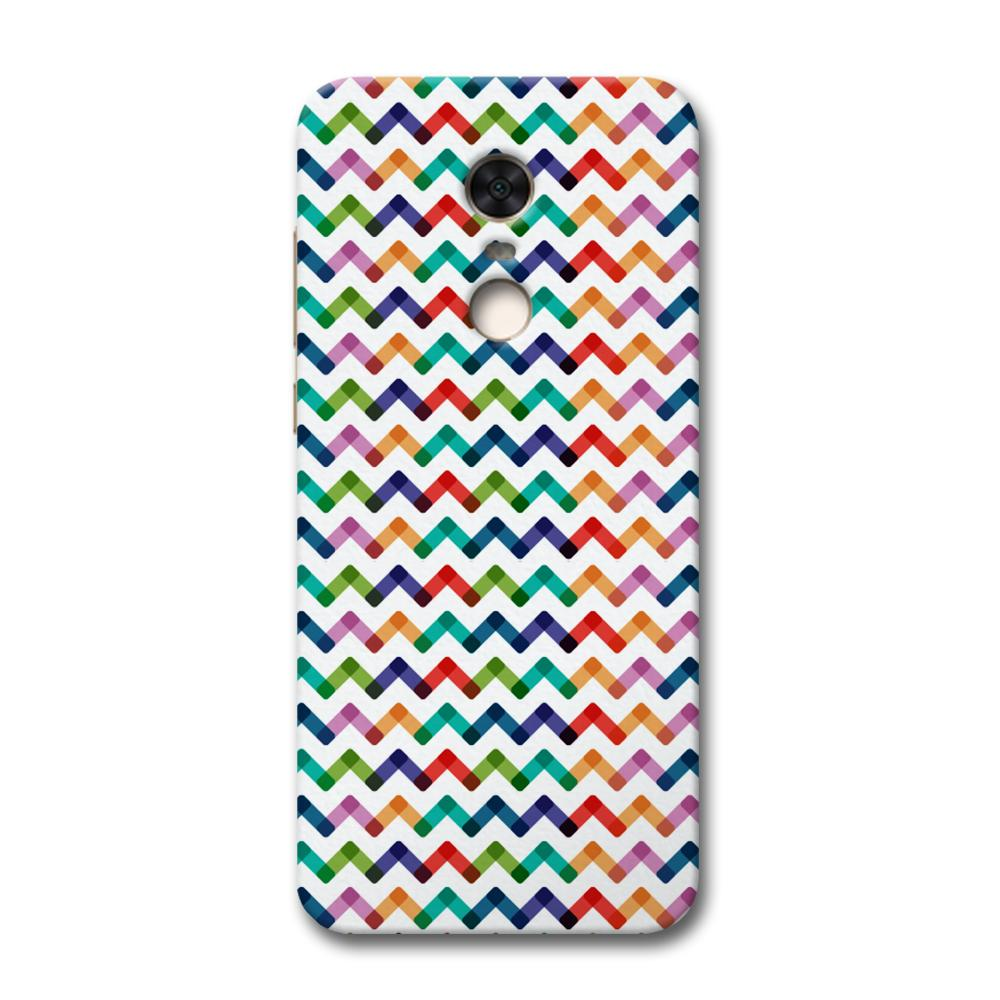 Colors Chevron Redmi Note 5 Case