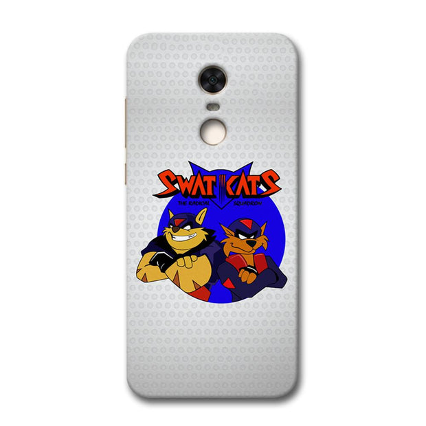 Swat Cats Redmi Note 5 Case
