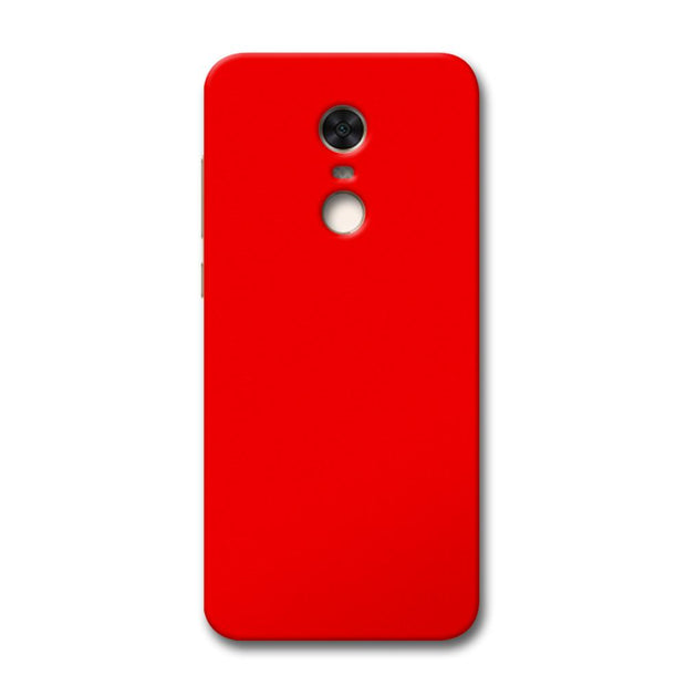 Bright Red Redmi Note 5 Case