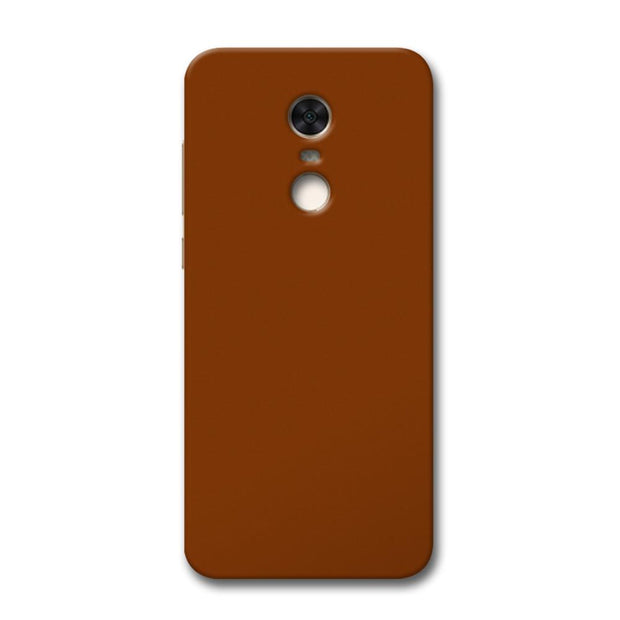 Brown Redmi Note 5 Case