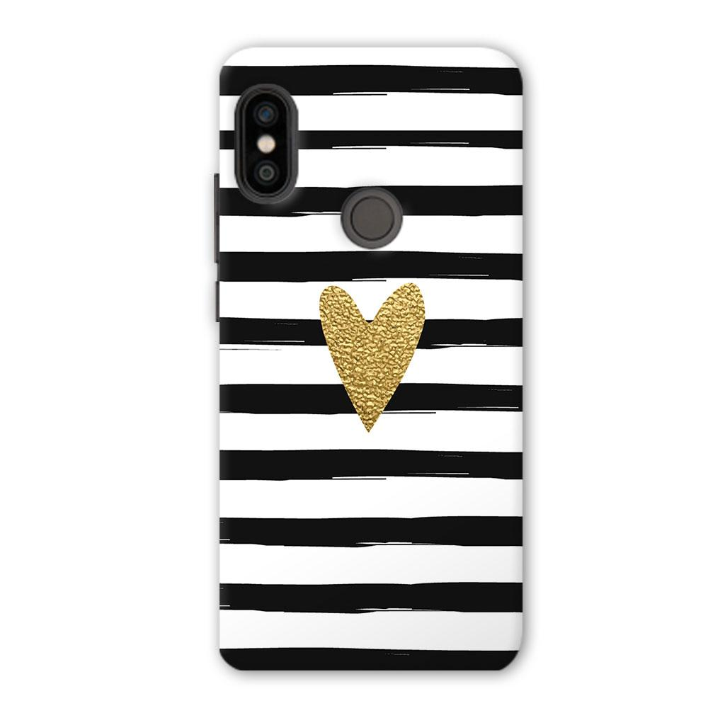 Bling Heart Redmi Note 5 Pro Case