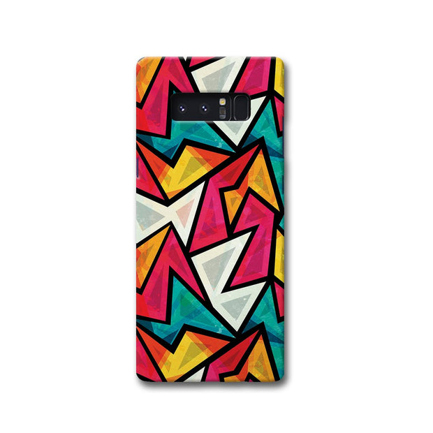Angular Pattern Samsung Note 8 Case