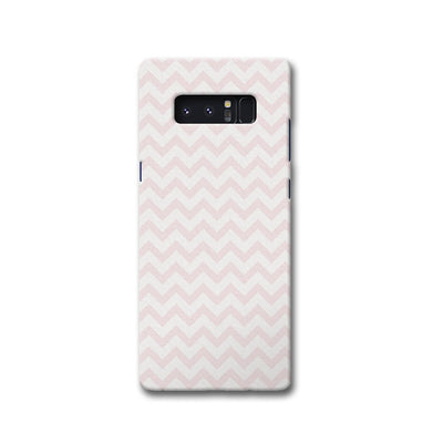 Light Pink Chevron Pattern Samsung Note 8 Case