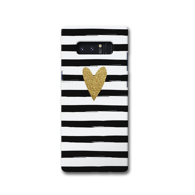 Bling Heart Samsung Note 8 Case