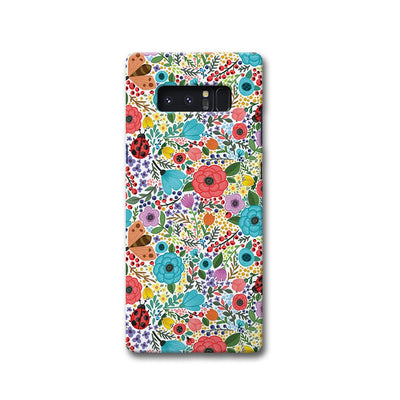 Floral Pattern Samsung Note 8 Case