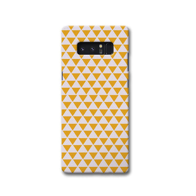 Yellow Triangle Samsung Note 8 Case