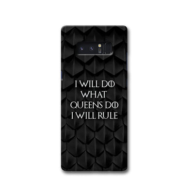 Daenerys Quotes Samsung Note 8 Case