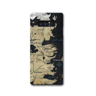 Game of Thrones Map Samsung Note 8 Case