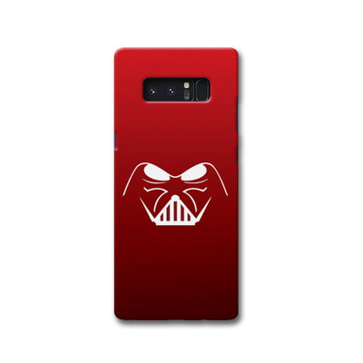 darth vader-Red Samsung Note 8 Case