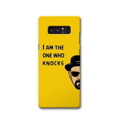 I Am The One Who Knocks Samsung Note 8 Case