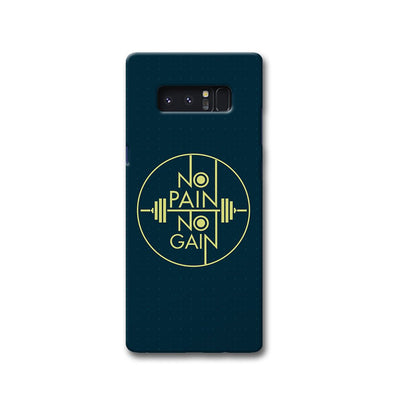 No Pain No Gain Samsung Note 8 Case