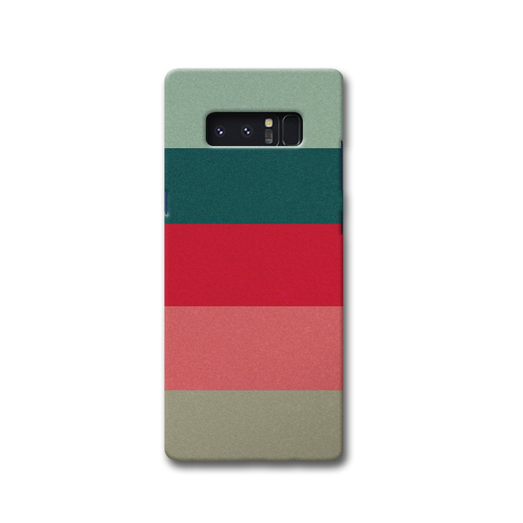 Colored Strips Samsung Note 8 Case