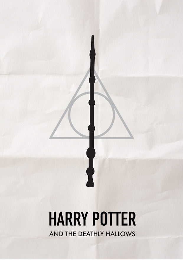 Buy Deathly Hallows Poster