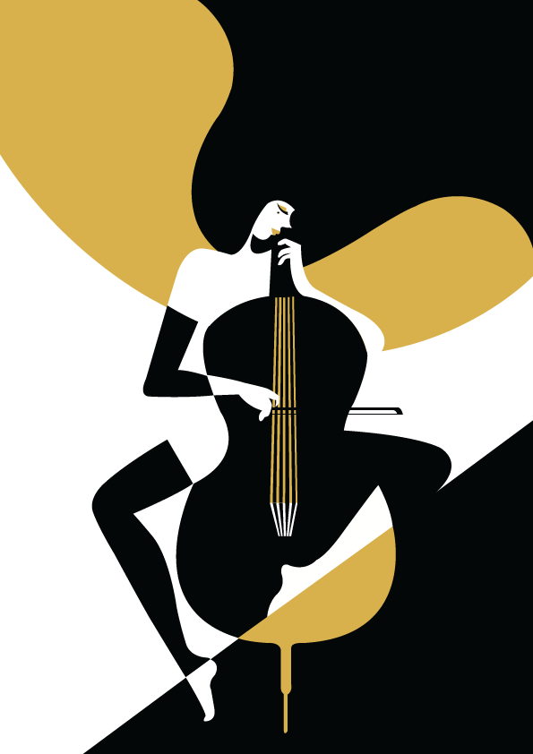 Buy Cello Poster
