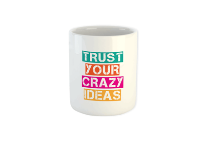 Trust Your Crazy Idea Mug