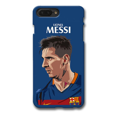 Messi Blue Apple iPhone 7 Plus Case