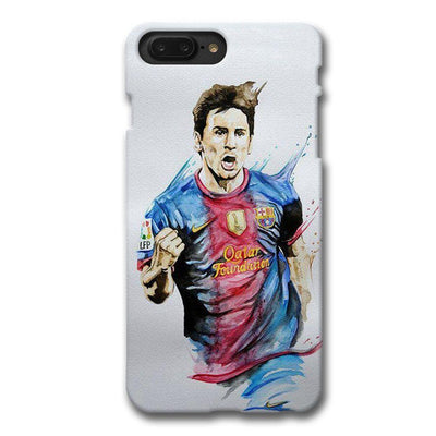 Messi White Apple iPhone 7 Plus Case