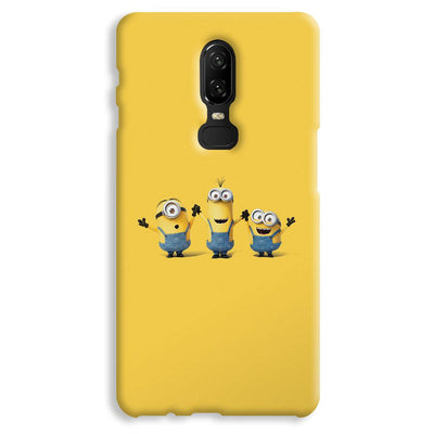 Three Minions OnePlus 6 Case