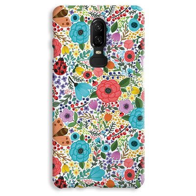 Floral Pattern OnePlus 6 Case