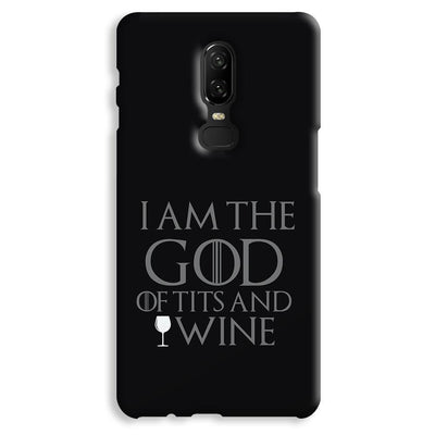 I AM THE GOD OnePlus 6 Case