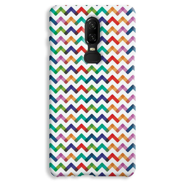 Colors Chevron OnePlus 6 Case