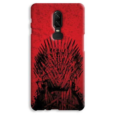 Red Hot Iron Thrones OnePlus 6 Case