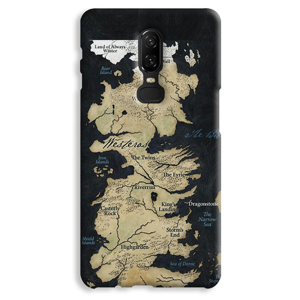 Game of Thrones Map OnePlus 6 Case