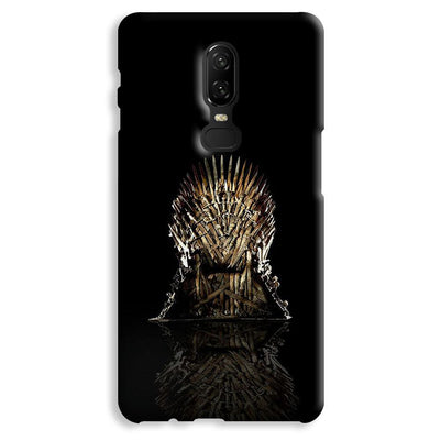 Black Iron Thrones OnePlus 6 Case