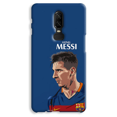 Messi Blue OnePlus 6 Case