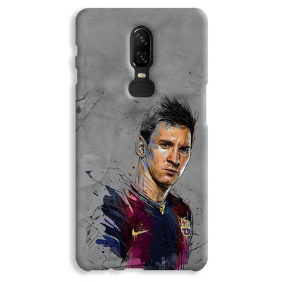 Messi Grey OnePlus 6 Case