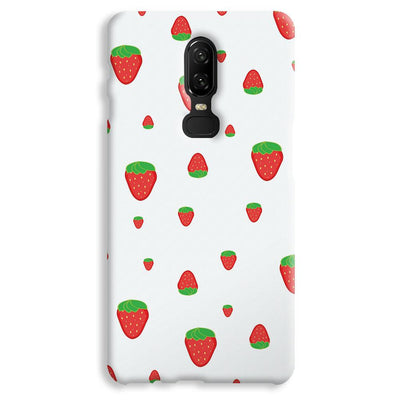 Strawberry OnePlus 6 Case