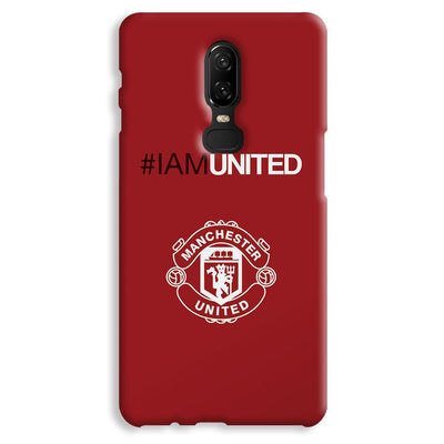 I Am United OnePlus 6 Case