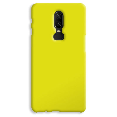 Yellow OnePlus 6 Case