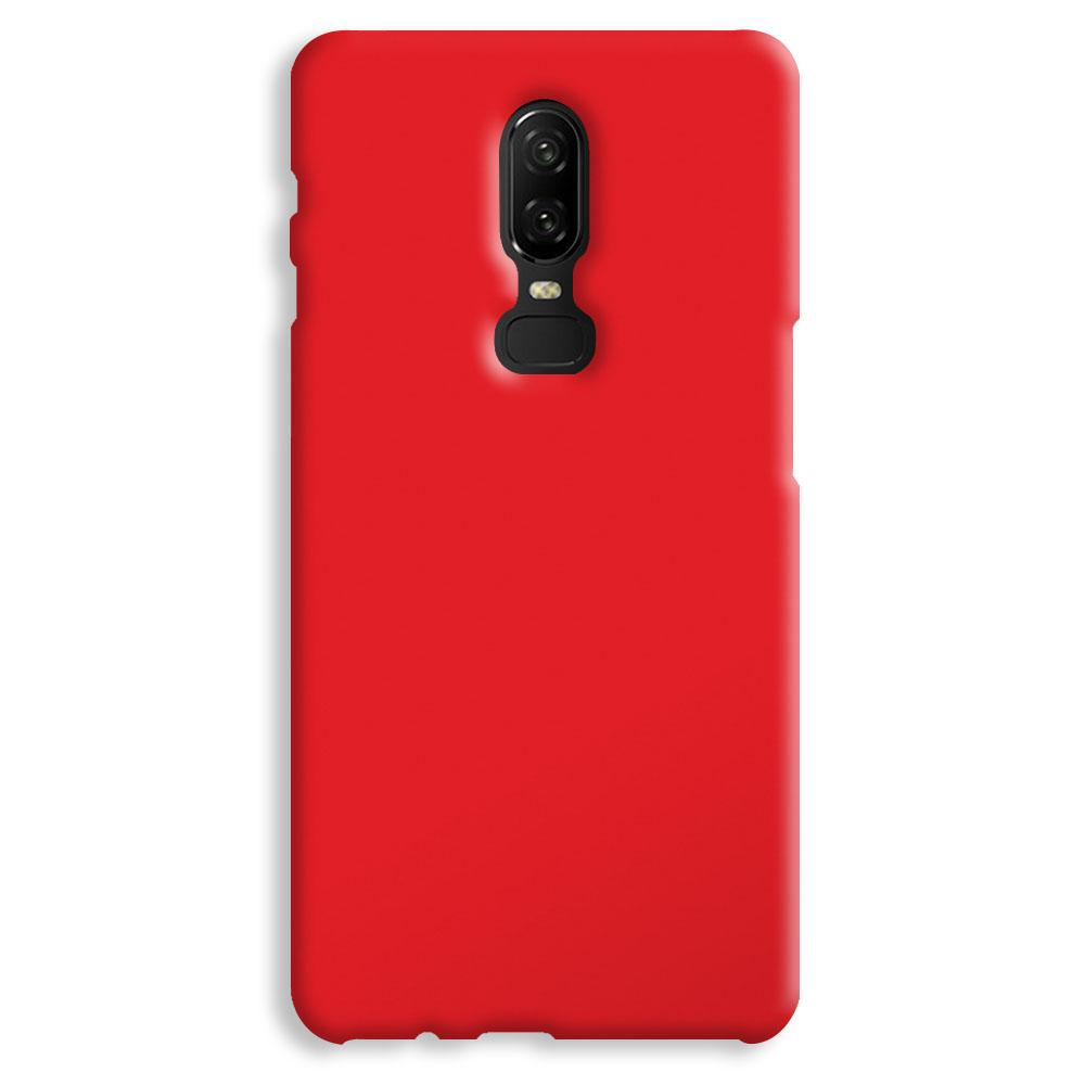 Bright Red OnePlus 6 Case