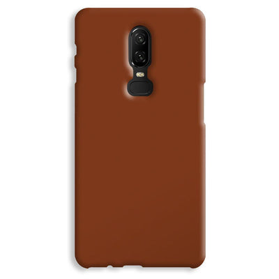 Brown OnePlus 6 Case